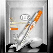 25x 14G Piercing Kanüle / Catheter Nadel Set / Piercingnadeln ★ Studioqualität ★