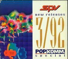 SPV  CD-PROMO 3/92  SODOM  /  ELOY  /  BALTIMOORE  /  HITTMAN