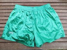 VINTAGE Short LE ROC vert shiny brillant années 80 / 85 ancien sport