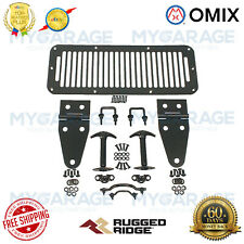 Omix-ADA For 1978-1995 Jeep CJ / Wrangler Rugged Ridge Black Hood Kit - 11201.01