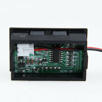 0.56 inch LCD DC 3.2-30V Red LED Panel Meter Digital Voltmeter with Two-wire