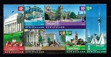 New Zealand 2002 Architectural Heritage Block of 6 MNH