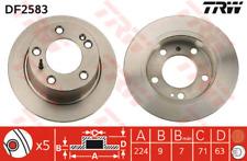 Bremsscheibe (2 Stück) - TRW DF2583