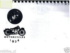 A0102 AJS---ANNUAL 1934---MODEL34-12+5+B6+6+7+10+B8+8+9+2+A+B+C- PHOTOCOPY