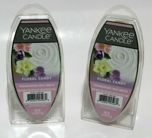 2 Yankee Candle Wax Melts - Floral Candy NEW