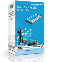 Conceptronic Multi Card Reader Express Card C05-159