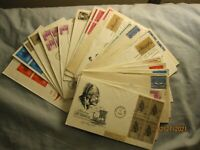 First Day Cover (FDC) Lot--32 covers from the 1960's Artmaster cachets