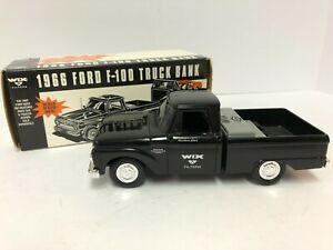 Ertl - Wix Filters 1966 Ford F-100 Truck Bank Collectibles