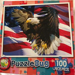 Puzzle-100 Piece Puzzle,Eagle