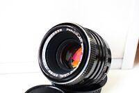 RARE BLACK MC Carl Zeiss Jena Pancolar AUTO Germany lens 50mm f/1.8 M42 EXC