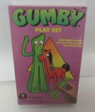1988 COLORFORMS GUMBY PLAYSET NEW AND SEALED