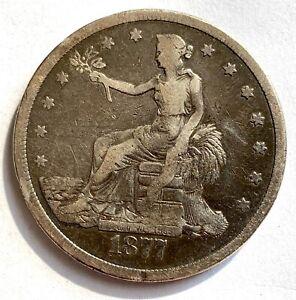 USA TRADE DOLLAR 1877 S