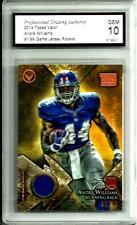 2014 Topps Valor # VVR-AW Andre Williams Game Jersey *Rookie*Mint 10 N.Y.Giants