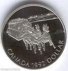 Canada 1 Dollaro 1992 argento PROOF @@ Diligenza @@