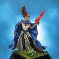Painted Fenryll Miniature Female Mage