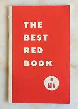 """""""The Best Red Book in MIA"""" by LDS Mormon Church, Illustrated Booklet--Speaking"""
