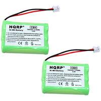 2x HQRP Batterie de Téléphone pour Philips SJB2142 SJB2142/17 SJB2142/37 Rca