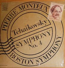 SEALED=TCHAIKOVSKY SYMPHONY 4; MONTEUX, BOSTON; RCA GOLD STEREO DIGITAL REMASTER