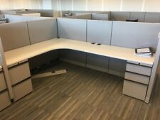Used Office Cubicles, Knoll Morrison 6x8 Cubicles