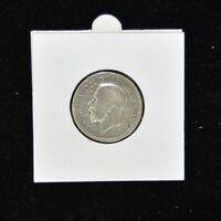 1928 One Shilling Georgivs V - Silver -  Very Fine Condition