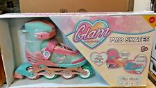 Glam by Rush Girl Pro Inline Skates Adjustable Size - 4 * 5 * 6 * 7