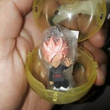 gashapon dragon ball z super bandai keychain ss pink goku black
