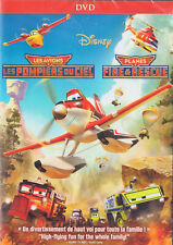 PLANES: FIRE & RESCUE (DISNEY) - BILINGUAL COVER *NEW DVD*