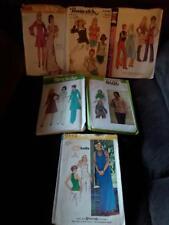 Vintage Ladies clothing pattern Lot #1, Size 9/10, 6+4 BONUS = 10 patterns Total