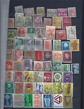 Over 100 used stamps any years issue