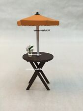 Megahouse dollhouse miniature garden parasol table flower 2004