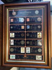 More details for the limited edition version millennium collection coins/stamps 1900-2000