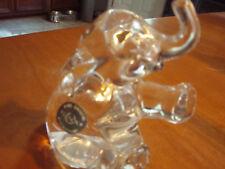 Lenox Crystal Elephant Figurine nwt