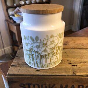 Vintage Hornsea Fleur –Kitchen Storage Jar – Tea – Retro! –