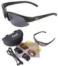 Gafas de sol de hombre grises deportivos, de 100% UVA & UVB