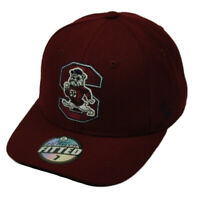 NCAA Original Zephyr South Carolina State Bulldogs Fitted Size Hat Cap Burgundy