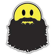 FACCINA Sorridente BARBA Hipster Sticker Da Mr oilcan 90 x 115mm