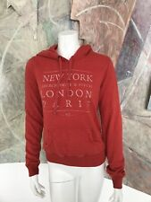 Abercrombie & Fitch Londres Paris New York Femmes Capuche Sweat W Taille S