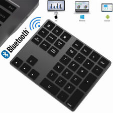 Wireless Bluetooth Number Pad Keypad Stylish Apple Magic Numeric for Mac Laptops
