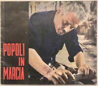 """RSI """"POPOLI IN MARCIA"""" libro edizioni Domus 1944"""