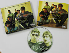 OASIS Interview disc & fully illustrated book CD +120p book UK 1996
