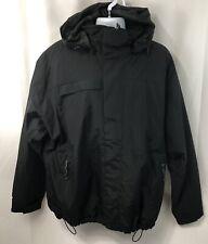 Port Authority Mens Sz XL Nootka Jacket Waterproof Zip Off Hood Coat J792