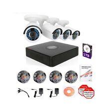 LaView  LV-KT934HS4A5-T1 Security System DVR 1080P HD 4 Cameras 4CH