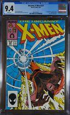 X-Men #221 CGC 9.4 - 1st appearance of Mister Sinister