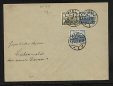 Germany   B44-45  on  cover   Kiel cancel  1936     KL0705