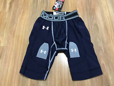 Under Armour Men's Hockey Compression Shorts Gear S Navy 1211690 Brand NEW $55