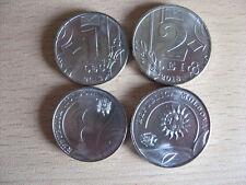 MOLDOVA 2018 set of 2 coins 1+ 2 lei UNC #B1
