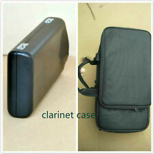 New clarinet case, real wood material leather box and clarinet portable package