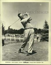 "1958 Press Photo Golfer Stewart ""Skip"" Alexander - hps00733"