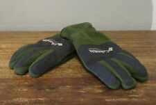 COLUMBIA Mens S/M Green Grey Titanium Fleece Gloves