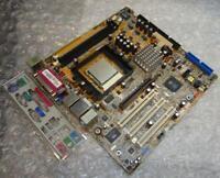 Genuine ASUS K8S-LA Socket 754 Motherboard with Backplate & CPU